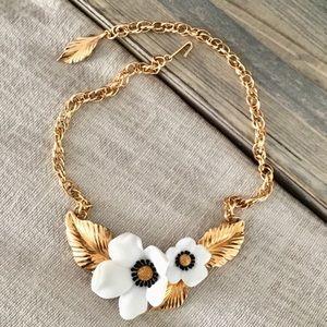 Cute adjustable gold collar choker necklace